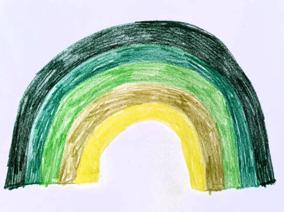 a rainbow for social care